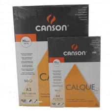 Calque pauzovací papier A3, 90g/m2 50 listov