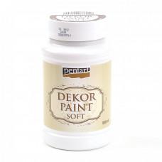 Dekor Paint Soft 100 ml, biela
