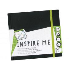 Derwent Graphik INSPIRE ME, zápisník 14 x 14 cm
