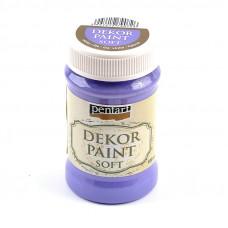 Dekor Paint Soft 100 ml, fialová