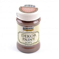 Dekor Paint Soft 100 ml, černicová