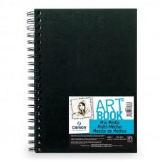 Artbook Mix Media 224 g, 40 str., 17,7x25,4 cm