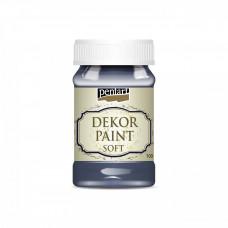 Dekor Paint Soft 100 ml, atramentová modrá