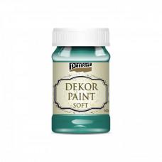 Dekor Paint Soft 100 ml, borovicová zelená