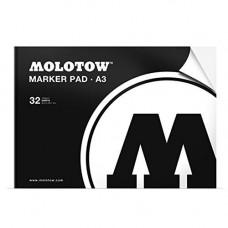 Molotow basic marker pad A3 32listov