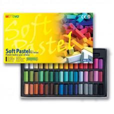 Sada mäkkých pastelov FOR ARTIST 48 ks