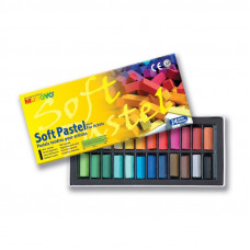 Sada mäkkých pastelov FOR ARTIST 24 ks
