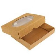Krabička s okienkom D+V  200 x 150 x 35