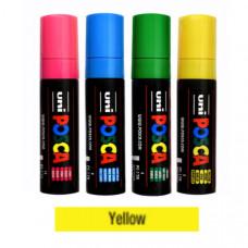 Uni Posca Akrylová fixka 17K, 8mm 002 žltá