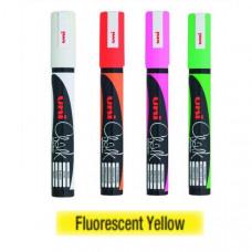 Uni Posca Kriedová fixka 5M, 2.5 mm 102 žltá fluorescentná